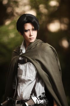 AMAZING cosplay ll Attack on Titan ll Special Operations Squad: Levi Ackerman by REIKA