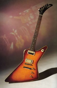The very first Hamer guitar ever made owned by Rick Neilsen. Another pin calls it a Hamer Standard.