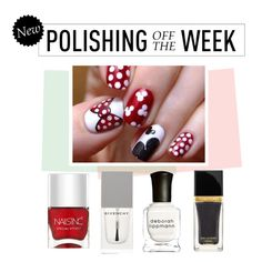 """""""Polishing Off the Week"""" by polyvore-editorial ❤ liked on Polyvore featuring beauty, Nails Inc., Tom Ford, Deborah Lippmann, Givenchy, nailpolish, polishingofftheweek and newnownails"""