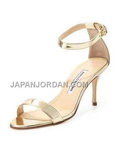 http://www.japanjordan.com/manolo-blahnik-chaos-metallic-anklewrap-sandal-gold.html 送料無料 MANOLO BLAHNIK CHAOS METALLIC ANKLE-WRAP SANDAL ゴールド Only ¥23,101 , Free Shipping!