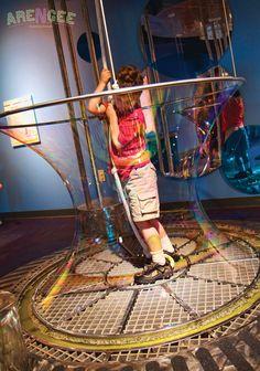 Children's Museum of Virginia bubble room
