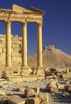 Roman Ruins. Palmyra, SYRIA.