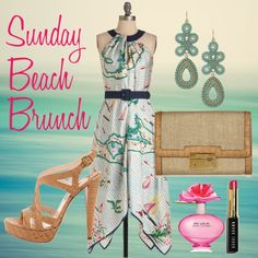 Sunday Brunch, created by thelifeoftheparty on Polyvore