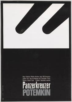 "Poster, ""The Battleship Potemkin"", ca. 1966 designed by Hans Hillmann"