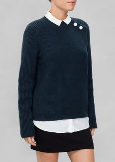 & Other Stories | Buttoned Sweater