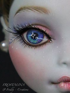 Nice eye painting technique