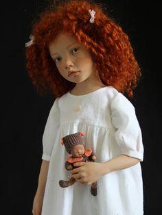 Les poupées d'artiste hyperréalistes de Laurence Ruet