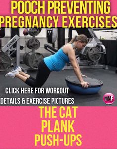 If you are afraid of getting a pooch after having the baby, then you better work your core during pregnancy.   Not only will it help you lose the belly after baby but it will prevent excess weight gain and lessen aches and pains especially in the lower back.  http://michellemariefit.publishpath.com/pooch-preventing-pregnancy-exercises