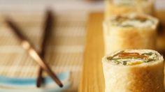 Rezept: Kokos-Teigröllchen im Sushi-Stil