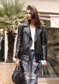 runwayandbeauty:  Taylor Marie Hill - Cannes 2015, street style. Credits:Pier Guido Grassano / Models Jam