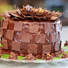 Try this Mint and Chocolate Checkerboard Cake  recipe by Chef Angela. This recipe is from the show The Great Australian Bake Off.