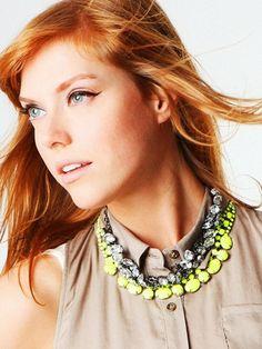 bright necklace are so fun!