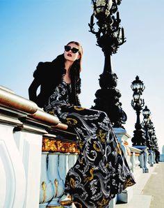 Publication: Bergdorf Goodman Magazine Pre Fall 2014 Model: Marine Deleeuw Photographer: Serge Leblon