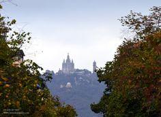 Tividabo desde Rambla Catalunya Barcelona, Natural, Monument Valley, Spain, Summer, Travel, Life, World, Latin America