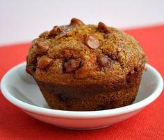 Pumpkin-Cinnamon Chip Muffins