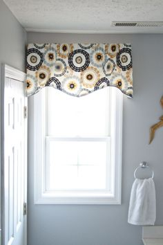 Bathroom window valance ideas my web value two it yourself 15 minute window valance and diy coordinating accessories for solutioingenieria Images