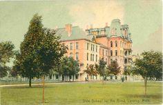 Lansing Michigan State School for The Blind Vintage Postcard   eBay