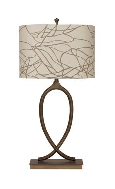 "Crestview Amherst Table Lamp 32""Ht CVAER286"