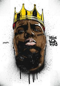On this day in Christopher Wallace aka the Notorious BIG was shot and killed. Arte Do Hip Hop, Hip Hop Art, Mode Hip Hop, Hip Hop And R&b, Desenho New School, Tupac Art, Rapper Art, Rap Wallpaper, Street Artists
