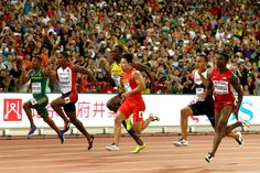 Usain Bolt Photos: 15th IAAF World Athletics Championships Beijing 2015 - Day Two