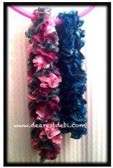 Sashay Ruffle Crochet Scarf