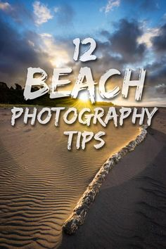 Tips and techniques for creating stronger beach photos, seascapes, and coastal images. #beachphotography #seascapephotography #landscapephotography Beach Photography Tips, Outdoor Photography, Landscape Photography, Multiple Exposure, Blue Hour, Shutter Speed, Beach Photos, Photo Tips, Photoshop Actions