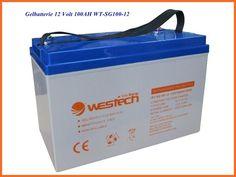 100 Ah 12V Gel Akku Solar Batterie Gelbatterie verschlossen absolut wartungsfrei