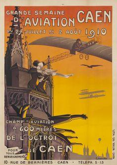 Grande Semaine D'Aviation Caen by Dessoulles  