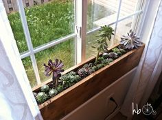 Image result for how to build window flower boxes temporary