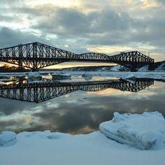 Pont de Québec ! Quebec Montreal, Quebec City, Canada, Expo, Sydney Harbour Bridge, Hui, Voici, Cities, Images