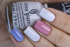 Soft skittles mani on grape fizz nails blog