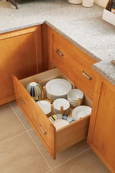 All Of Your Dishware Stored In One Place, Organized And Simple.