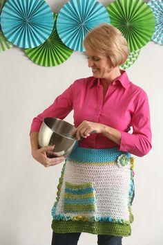 Party Prep Apron - I Like Crochet