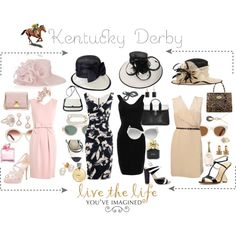 A fashion look from May 2012 featuring Phillip Lim dresses, Moschino Cheap & Chic dresses y Hervé Léger dresses. Browse and shop related looks. Kentucky Derby Outfit, Kentucky Derby Fashion, Derby Attire, Derby Outfits, Summer Outfits, Tea Party Attire, Tea Party Outfits, Phillip Lim, Moschino
