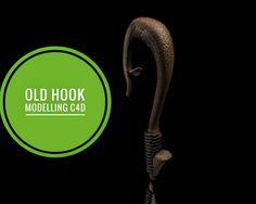 Cinema4D hook midelling & sculpting