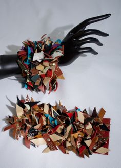 Leather Tag Bracelet