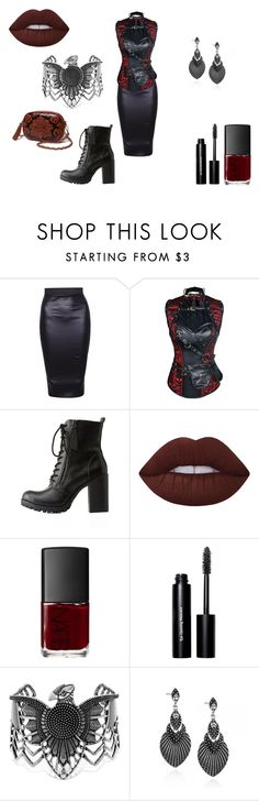"""""""Untitled #248"""" by ilona-giladi ❤ liked on Polyvore featuring Soda, Lime Crime, NARS Cosmetics, Bobbi Brown Cosmetics and Steve Madden"""