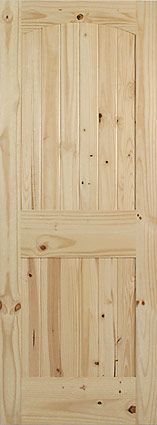 Knotty Alder Round Top Doors Ours Will Have Rustic Gray Stain To Match Floors