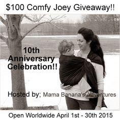 $100 GC for Comfy Joey http://www.heartofaphilanthropist.com/blog-stuff/100-comfy-joey-giveaway