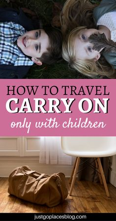 How to travel carry on only with kids: do you think it's impossible? It's not! Reaad this guide to learn about carry on packing, carry on bag essentials, and how to travel carry on tips. | Light travel packing carry on bag #carryon #carryononly #lighttravels - via @justgoplaces