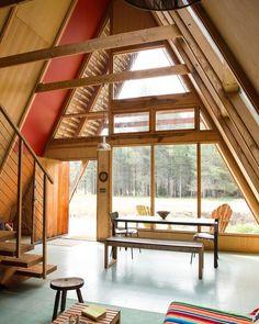 #Framed #Cabin #House