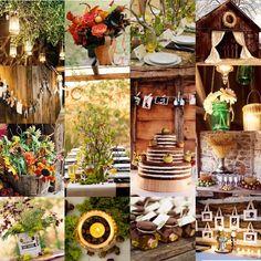 Beautiful Fall Barn Wedding