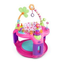It features interactive toys, adjustable height positions, and seat rotation so she won't miss a thing. Adventure awaits your baby girl with the Bright Starts Sweet Safari Bounce-A-Round. Seat rotates for full access to toys. Pretty And Cute, Pretty In Pink, Best Baby Bouncer, Baby Equipment, Interactive Toys, Seat Pads, Activity Centers, Baby Needs, Baby Play