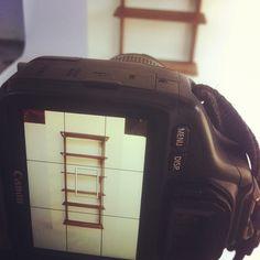 """Sneak peek at Gamla's modular floating bookshelf made from solid black walnut and brass! #vancouver #design"""