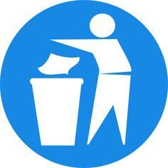 throw it in the bin logo - Google Search