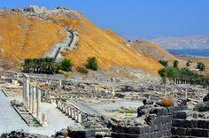 Bet Shean National Park | bet shean national park israel ruins