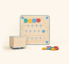 Meet Cubetto: the friendly wooden robot toy for kids aged 3-7, chosen by 20,000 parents & teachers to guide kids on coding adventures without screens.