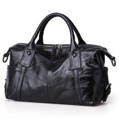 Women Genuien Leather Tote Bag High-End Crossbody Leather Bag