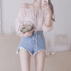 I Love these work korean fashion. 3435687343 I Love these work korean fashion. Teenager Fashion Trends, Korean Fashion Trends, Korean Street Fashion, Korea Fashion, Asian Fashion, Teen Fashion, Girl Outfits, Cute Outfits, Fashion Outfits