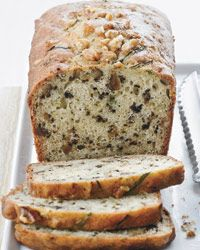 Yogurt-Zucchini Bread with Walnuts // More Fabulous Breakfast Pastries: http://fandw.me/ywB #foodandwine
